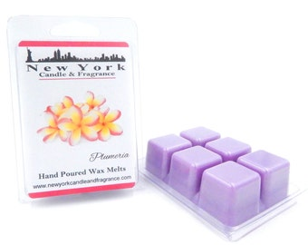 Plumeria Wax Melts -- Highly Fragrant -- New York Candle & Fragrance
