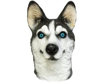 Husky Dog Costume Face Mask - Kennel Club