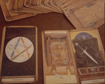 Three Card Tarot Draw- Past, Present and Future, fortune telling, witchcraft, wicca and pagan, divination