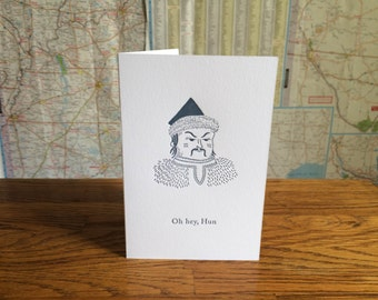 Significant Other Greeting Card - Hun