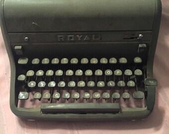 Royal Typewriter - Model HH?