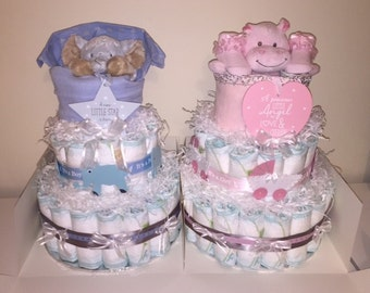 Diaper Cake, Baby showers, baby gifts