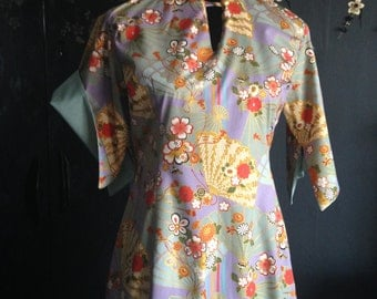 1950's inspired little Chinese style wiggle dress