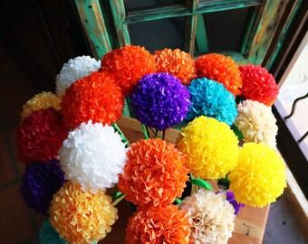Handmade Rice Paper Flower bouquet