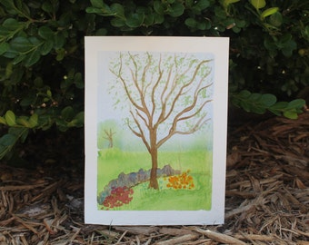 Tree of Life- Original Watercolor