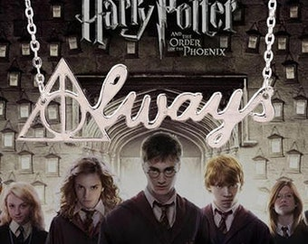 Deathly Hallows ~ Always Necklace.