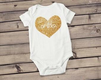 Heart of Gold Bodysuit