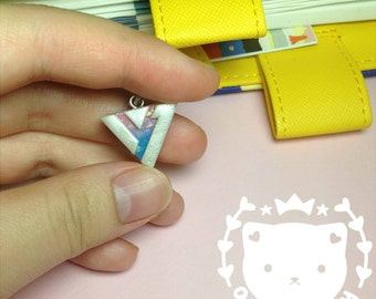 Seventeen Keychain/Necklace- Kpop - Carat Logo - Polymer Clay Charms - Planner Charm - AniMeiClay