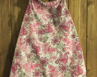 Paisley halter dress size 3T
