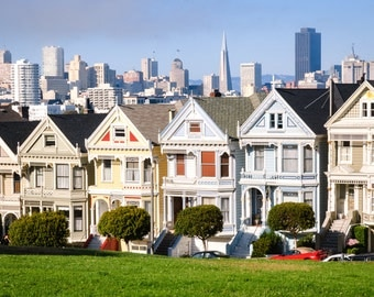 The Colorful Homes of Alamo Square