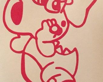 Mario Bros: Birdo Decal