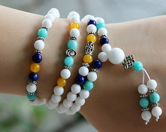 Tridacna Stone Bracelet