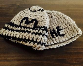Custom Embroidered Crochet Hat