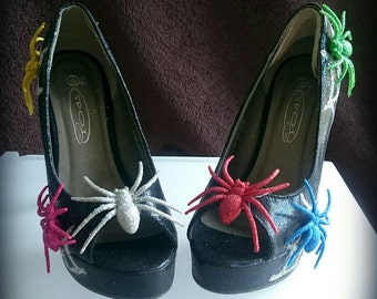 Spider Halloween Customised Shoes