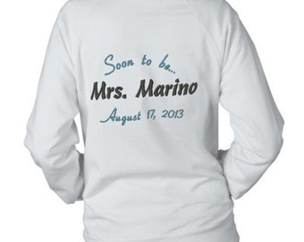 Soon to be Mrs. embrodery