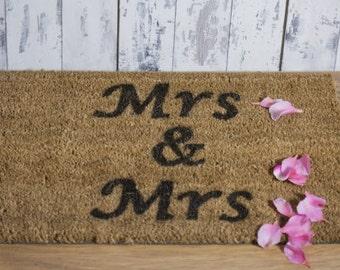 Mrs and Mrs doormat