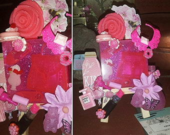 Love Girl Easel pink