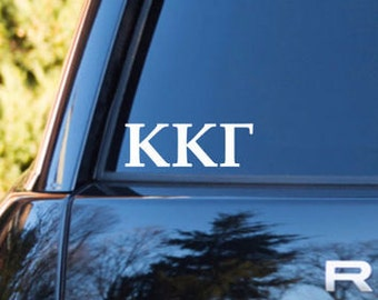 Kappa Kappa Gamma Decal