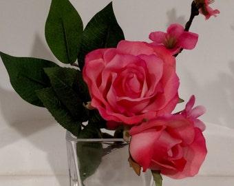 Small Silk Floral Arrangement