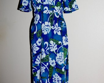 "Vintage ""Royal Hawaiian"" Dress - Size M/L"