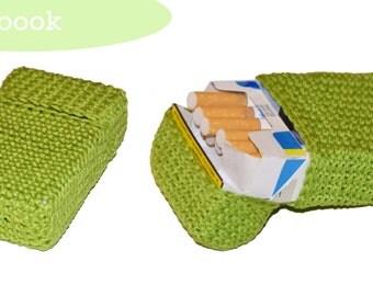 Crochet pattern cigarette box bag, crochet pattern cigarette case, cigarette bag, bag cigarette/cigarette box