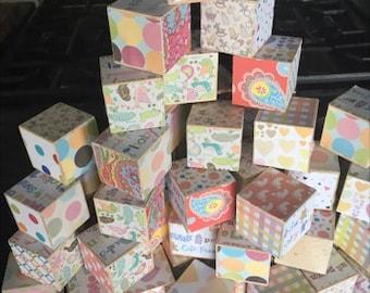 Wood Baby Blocks