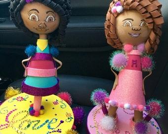 Styrofoam Dolls (Photos 1-4)