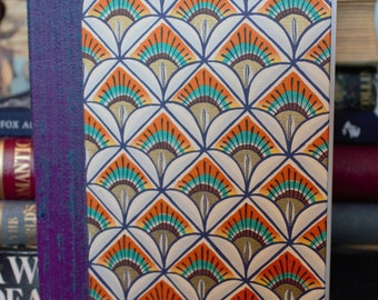 Hand Bound art deco book