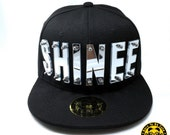 KPop SHINEE Acrylic Letters Hat