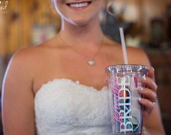 Custom Bridal Emergency Day Kit in a Cup