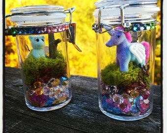 Baby Unicorn Terrariums