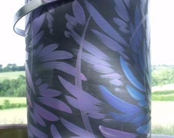 Purple Feather Scroll