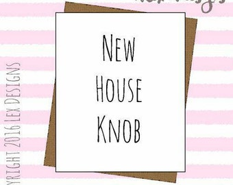 Hilarious new house card funny adult banter insult moving home card blank inside