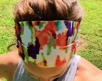 Yoga/Fitness/Running Wide Headband-ANIMAL MULTI