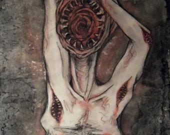 Monster // 2014 // Print