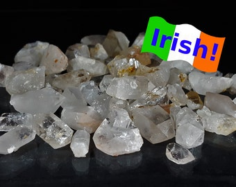 Quartz - Quartz points - Irish mineral - Irish stone - Quartz points lot - Bulk