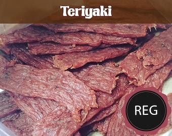 Teriyaki - Regular  (All Natural Beef Jerky or All Natural Turkey Jerky)