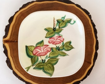 Red Wing Pink Morning Glory Concord Salad Replacement Plate