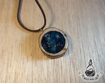 constellation necklace (Aquarius)