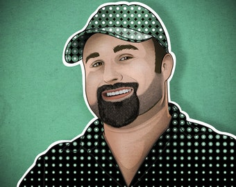 Custom Vector Style Portrait Illustration from Your Photograph