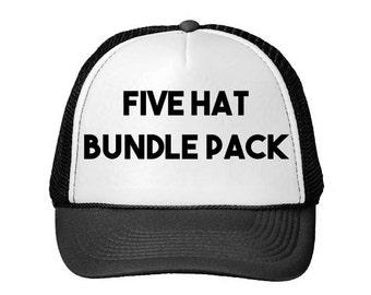 Bundle Pack (Choose Any Five Hats)