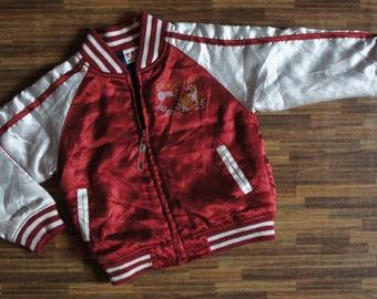 KIDS Vintage Sukajan Tiger Bomber Jacket
