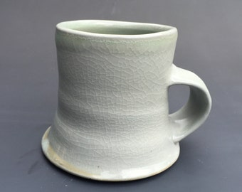 wide bottom salt mug