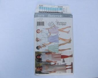 Pattern skirt butterick classics size 6-8-10-12 unused