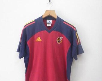 Vintage Adidas Spain Football Team T-Shirt