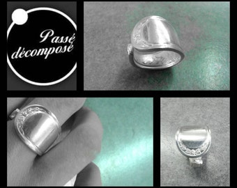 spoon ring size 6  style Empire