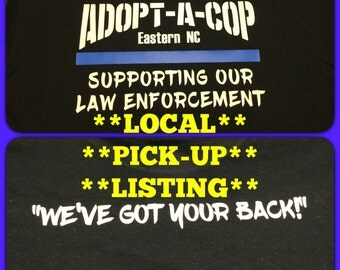 Adopt-a-Cop Local Pick Up