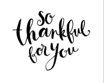 So Thankful Card (Pack of 3)
