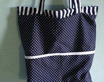 Handmade shopping bag