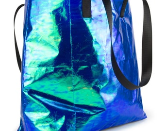 Iridescent Shopper Bag